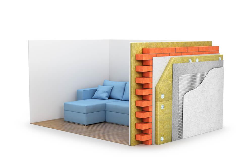Isolation interieur et exterieur